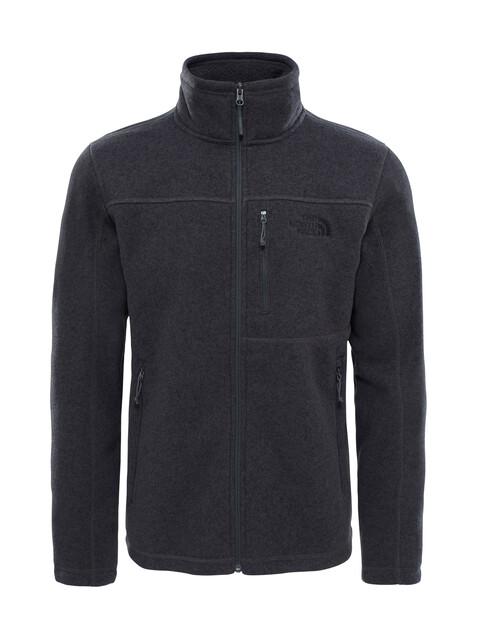 The North Face Gordon Lyons Full Zip Fleece Jacket Men TNF Dark Grey Heather
